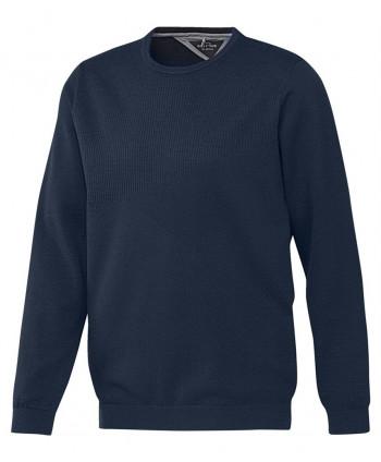 Pánský golfový svetr Adidas AdiPure Crew Neck