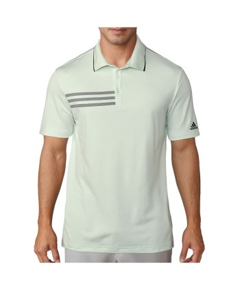 Pánske golfové tričko Adidas Ultimate 365 3-Stripes Engineered 2018