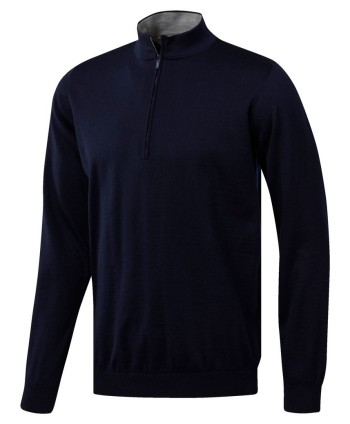 adidas Mens Adipure Quarter Zip Sweater