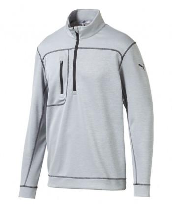 Pánska golfová mikina Puma Essential Evoknit Quarter Zip