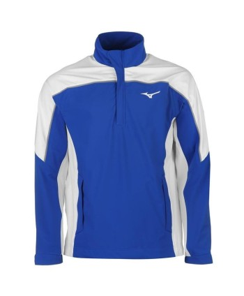 Mizuno Mens Pro Quarter Zip Rain Jacket