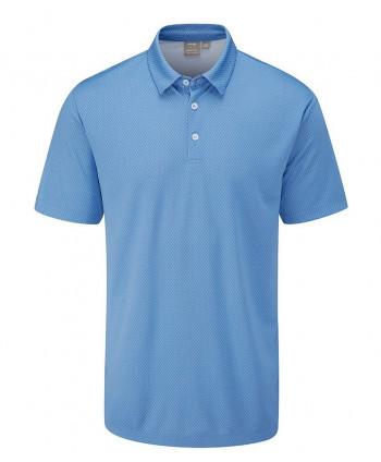 Ping Mens Spike Jacquard Polo Shirt