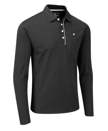 Stuburt Mens Urban Long Sleeve Polo Shirt