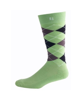 Footjoy Mens ProDry Argyle Crew Socks