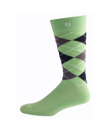 Pánské golfové ponožky Footjoy ProDry Argyle Crew