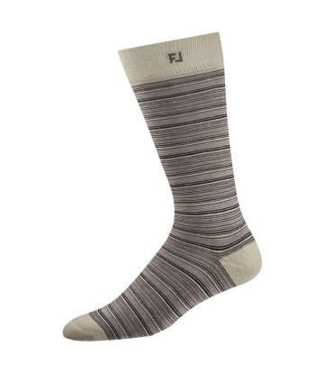 Pánské golfové ponožky Footjoy ProDry Fashion Striped Crew