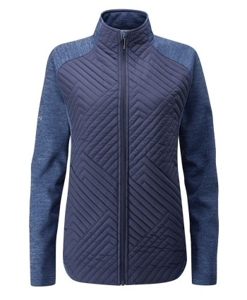 Ping Ladies Star Quilted Hybrid Jacket