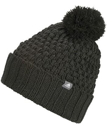 Dámska zimný golfová čiapka Adidas Fleece Lined PomPom