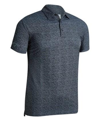 Pánske golfové tričko Callaway Micro Texture Primt