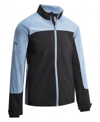 Callaway Mens Half Zip Chest Stripe Wind Jacket