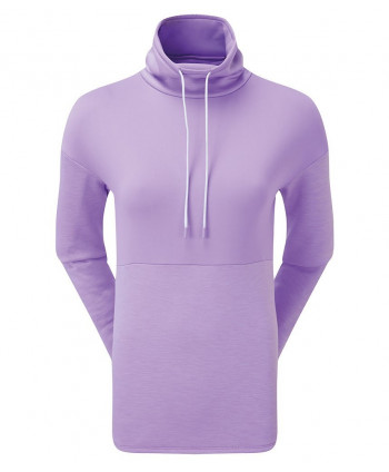 FootJoy Ladies Funnel Collar Fleece Pullover