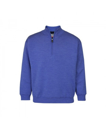ProQuip Merino Wool Half Zip Lined Sweater