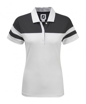 Dámské golfové triko FootJoy Smooth Pique Colour Block