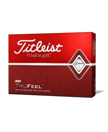 Titleist TruFeel Yellow Golf Balls (12 Balls)