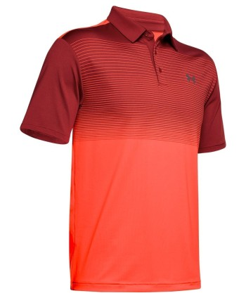 Pánské golfové triko Under Armour Playoff 2.0 Hole Out Stripe