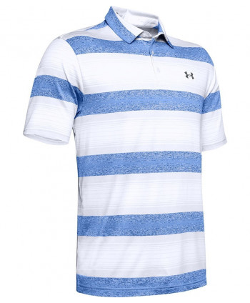 Under Armour Mens Playoff 2.0 Tour Stripe Polo Shirt