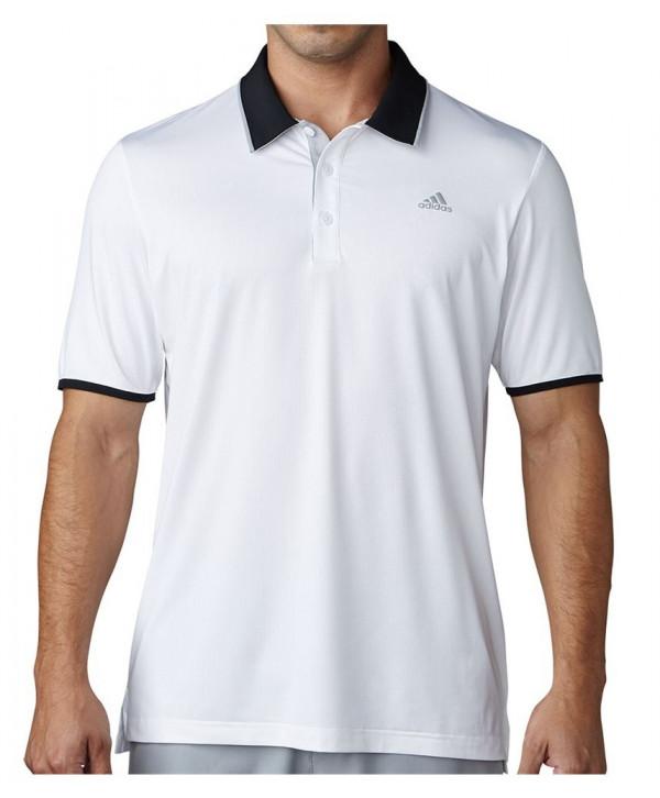 Adidas Mens ClimaCool Primeknit Polo Shirt