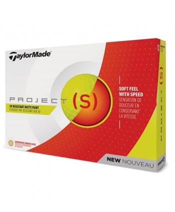 TaylorMade Project (a) Yellow Golf Balls (12 Balls)