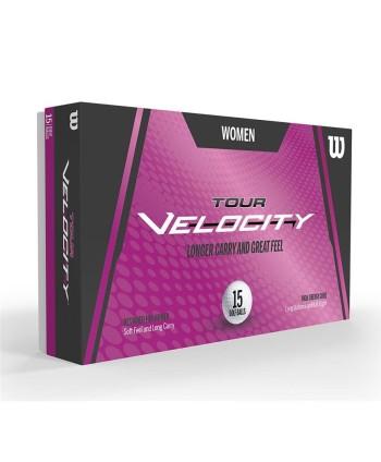 Dámské golfové míčky Wilson Tour Velocity (15 ks)