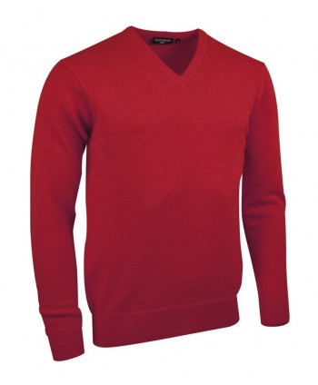 Glenmuir Mens Lomond V Neck Golf Sweater