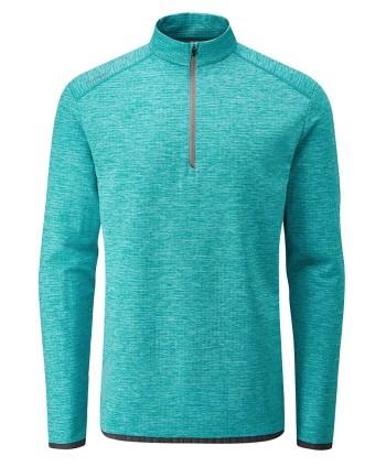 Pánska golfová mikina Ping Elden Performance Grid Fleece