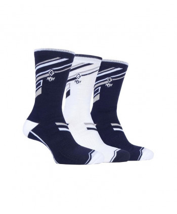 Pánské golfové ponožky Glenmuir Ryan Jacquard (3 páry)