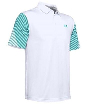 Pánske golfové tričko Under Armour Playoff 2.0 Sleeve Print