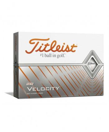 Titleist Velocity White Golf Balls (12 Balls) 2020