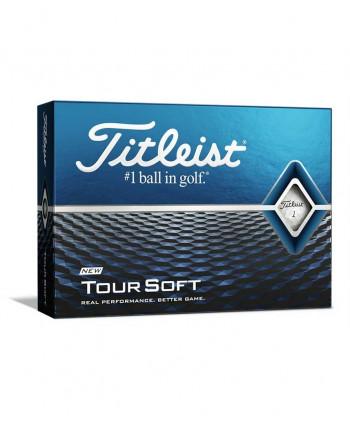 Titleist Tour Soft Golf Balls (12 Balls) 2018