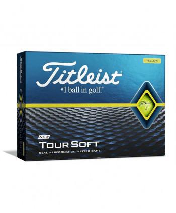 Titleist Tour Soft Yellow Golf Balls (12 Balls) 2020