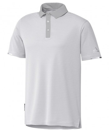 adidas Mens Heat Ready Stripe Polo Shirt