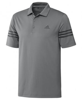 Pánske golfové tričko Adidas Heat Ready Stripe