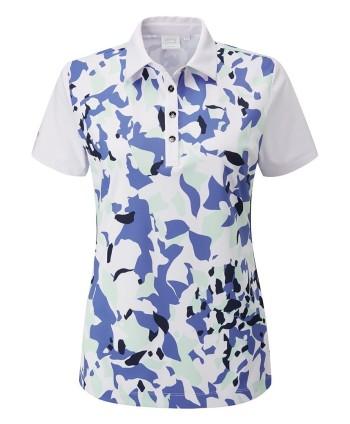 Ping Ladies Botanical Polo Shirt