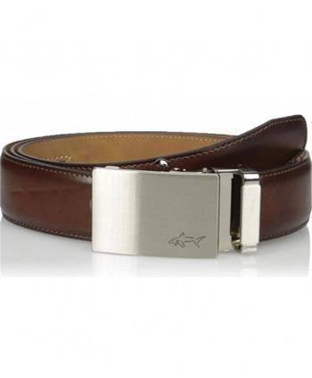Greg Norman Mens Ratchet Adjuster Style Belt