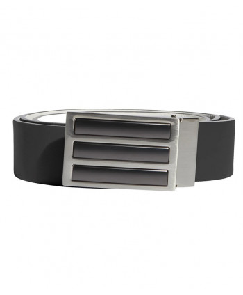 adidas Mens 3 Stripes Solid Reversible Belt