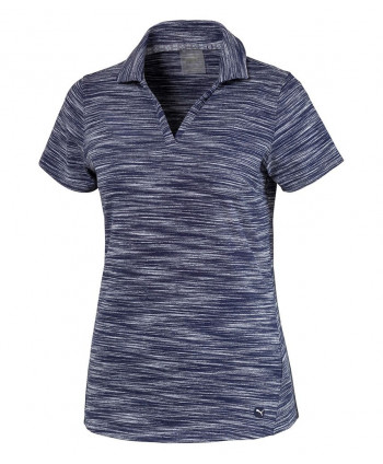 Dámské golfové triko Puma Heather Slub 2020