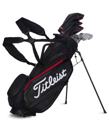 Golfový bag na nosenie Titleist Jet Black Collection Premium