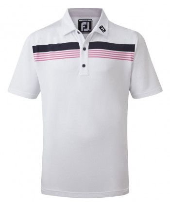 Dětské golfové triko FootJoy Stretch Pique Chestband