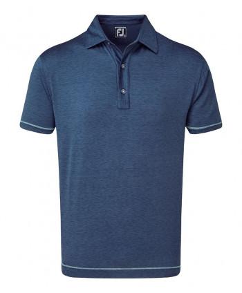 Pánske golfové tričko FootJoy Lisle Spacedye Microstripe