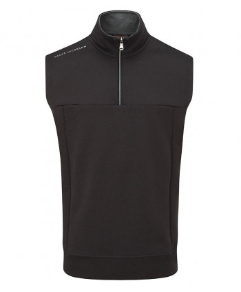 Oscar Jacobson Mens Hawkes Mid Layer Sleeveless Pullover
