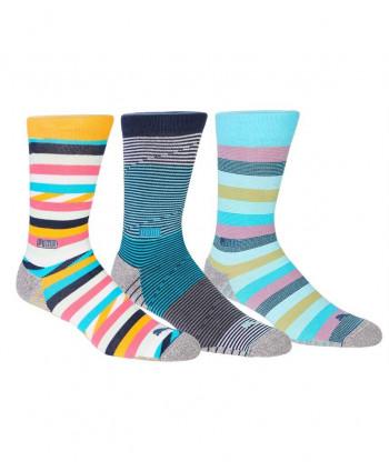 Pánské golfové ponožky Puma Stripe Crew (3 páry)