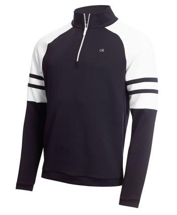 Calvin Klein Mens Strata Flex Half Zip Pullover
