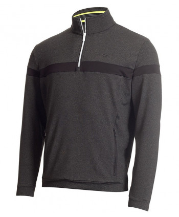 Calvin Klein Mens Retro Performance Full Zip Sweater