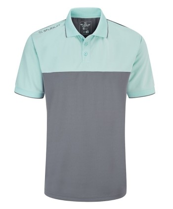 Stuburt Mens Evolve Duo Block Polo Shirt