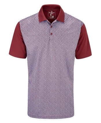 Pánske golfové tričko Stuburt Chatsworth 2020