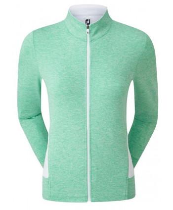 FootJoy Ladies Full Zip Knit Mid Layer Top