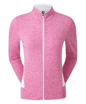 FootJoy Ladies Full Zip Knit Mid Layer Jacket