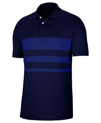 Nike Mens Dri-Fit Vapor Chest Stripe Polo Shirt