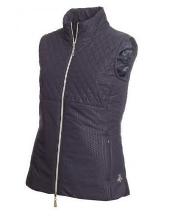 Green Lamb Ladies Karen Embosseed Padded Gilet