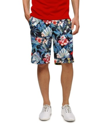 LoudMouth Mens Fore Shades of Red Shorts
